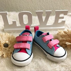 •Converse• Baby Girl Shoes